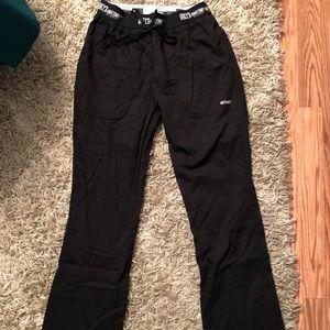 Grey's Anatomy black scrub pants size XS/T